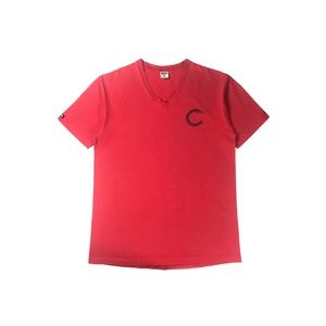 Men's Crooks & Castles T-Shirt Red Size Large